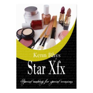 Ocasiones especiales de la estrella de Xfx del Tarjetas De Visita Grandes