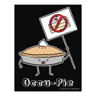 """Occu-Empanada (valor """"poster"""", negro) Tarjetas Publicitarias"""