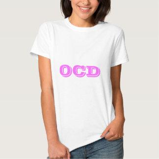OCD (ALEGRÍA obsesiva Disoreder) Camisetas