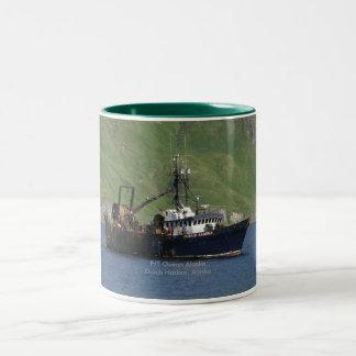 Océano Alaska, barco rastreador de fábrica en el Taza De Dos Tonos