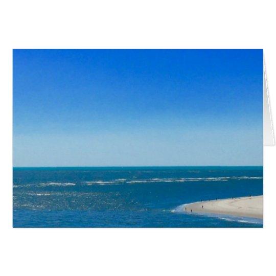 ¡Océano Atlántico da vuelta al Caribe! Tarjeta De Felicitación