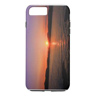 océano de la puesta del sol funda iPhone 7 plus