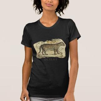 Ocelot del vintage camiseta