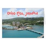 Ocho Rios, tarjeta de felicitación de Jamaica