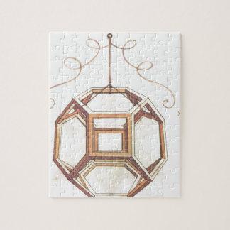 Octaedro de Leonardo da Vinci Rompecabeza Con Fotos