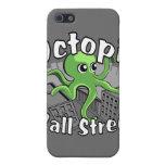 ¡Octopii Wall Street - ocupe Wall Street! iPhone 5 Funda