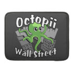 ¡Octopii Wall Street - ocupe Wall Street! Funda Macbook Pro