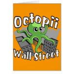 ¡Octopii Wall Street - ocupe Wall Street! Felicitación