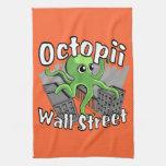 ¡Octopii Wall Street - ocupe Wall Street! Toallas