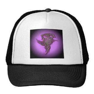 Ocult tribal de la muestra del dragón scarry gorras de camionero