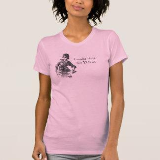 ~ ocupado de la mamá hago la hora para la YOGA Camiseta