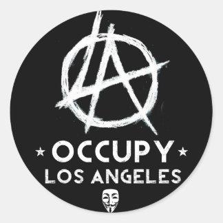 Ocupe al pegatina de Los Ángeles