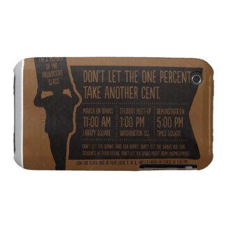 Ocupe la caja de la casamata de Blackberry del Case-Mate iPhone 3 Protector