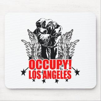 Ocupe Los Ángeles Alfombrilla De Ratón