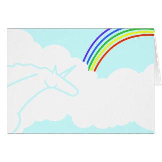 Oda a los arco iris de los años 70 y a la tarjeta