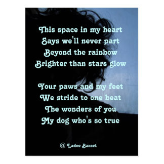 Oda del poema de la postal a los perros por el afl