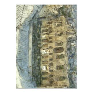 Odeon del Atticus de Herodes en Atenas Invitación 11,4 X 15,8 Cm