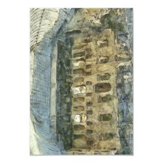Odeon del Atticus de Herodes en Atenas Invitación 8,9 X 12,7 Cm