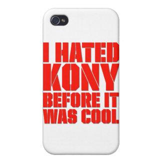 Odié Kony antes de que fuera fresco iPhone 4 Protectores