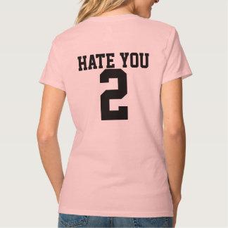 Odíele la camiseta de 2 mujeres