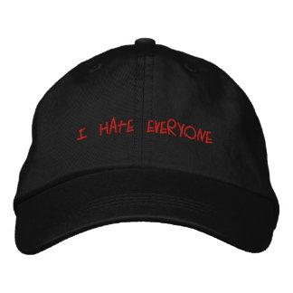Odio cada uno gorra