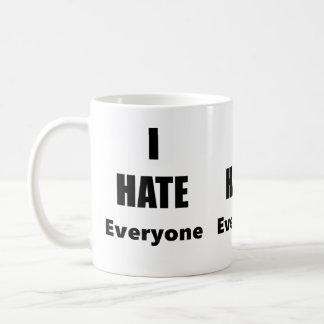 Odio cada uno taza de café