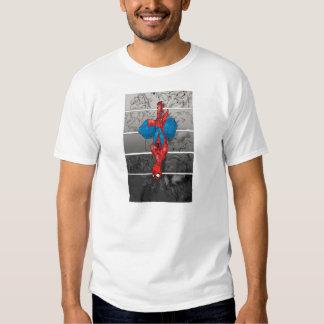 Odio de la araña camisetas
