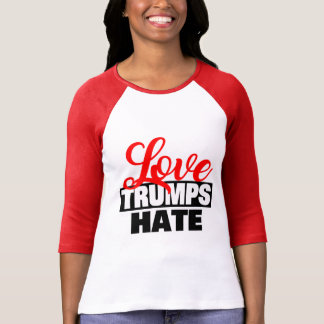 Odio de los triunfos del amor camiseta