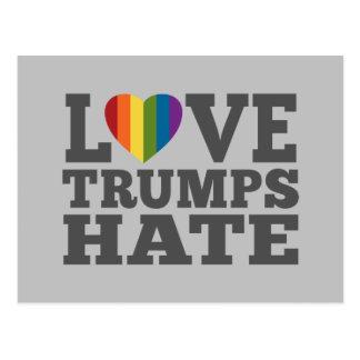 Odio de los triunfos del amor - Donald Trump anti Postal