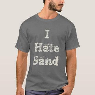 Odio el despliegue militar divertido de la arena camiseta