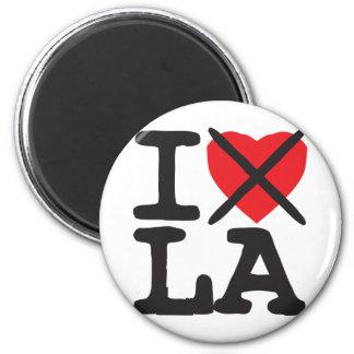 Odio el LA - Luisiana Imán Redondo 5 Cm