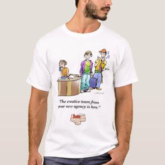 Odio la ropa del equipo de las agencias de camiseta