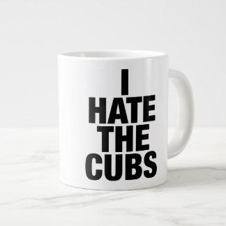 Odio la taza del jumbo de Cubs