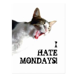 Odio lunes postal