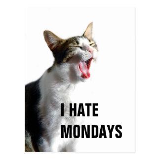 Odio lunes postales