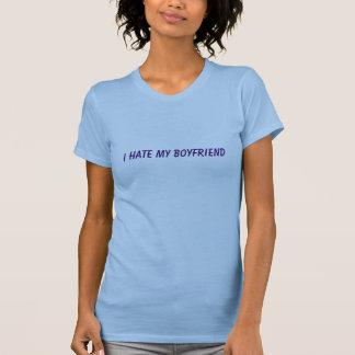 Odio mi novio camisetas