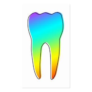 odontología del oddRex Tarjeta De Visita