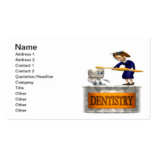 Odontología Plantillas De Tarjeta De Negocio
