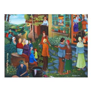 Oferta, arte de Mario Keglevic Tarjetas Postales