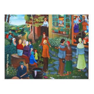 Oferta, arte de Mario Keglevic Tarjeta Postal