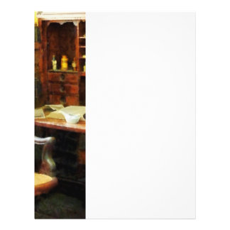 Office del doctor folleto 21,6 x 28 cm