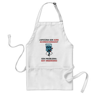 office without conditioned air? apron