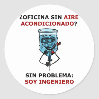 office without conditioned air? sticker
