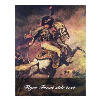 Oficial de los combatientes del guardia en el folleto 21,6 x 28 cm