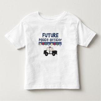Oficial de policía futuro camisetas
