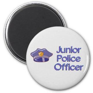 Oficial de policía menor imán