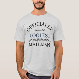 Oficialmente el cartero más fresco del mundo camiseta