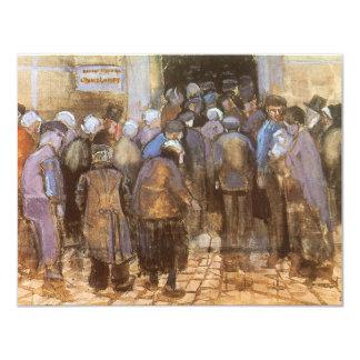 Oficina de la lotería del estado (dinero pobre) invitación 10,8 x 13,9 cm