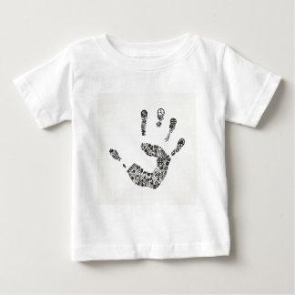 Oficina de la mano camiseta de bebé
