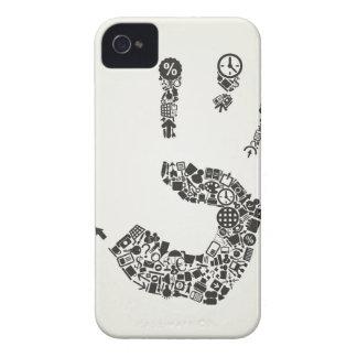 Oficina de la mano carcasa para iPhone 4 de Case-Mate